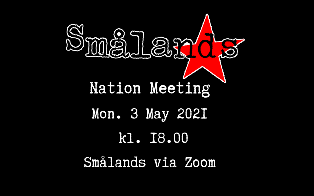 Nation Meeting May 2021 | Definitive Agenda