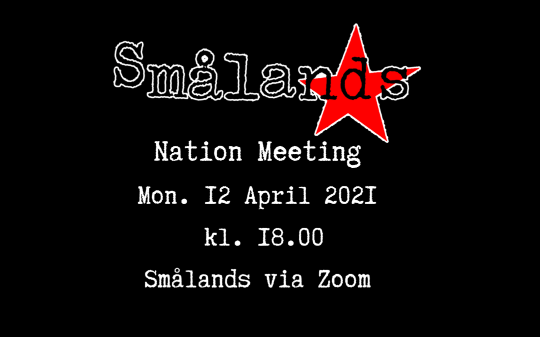 (UPD) DEF Agenda Nation Meeting 12 April